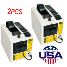 New listing 2X Electric Automatic Tape Dispensers Adhesive Tape Cutter Packaging Machine New