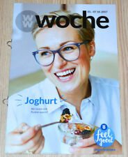 Weight Watchers Feel Good Woche 1.10 - 7.10 SmartPoints 2017 Wochenbroschüre NEU