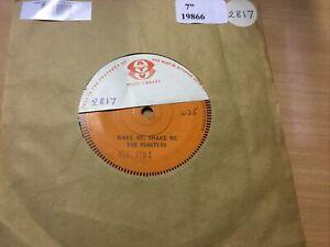 The Coasters - Wake Me Shake Me Single Sided Promo 7 inch single