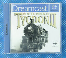 Railroad Tycoon II (Sega Dreamcast, 2000, Keep Case)