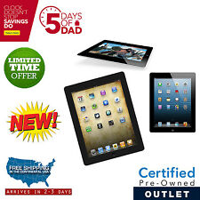 New Apple iPad 2 64GB Black WiFi +3G AT&T with 1 Year Warranty