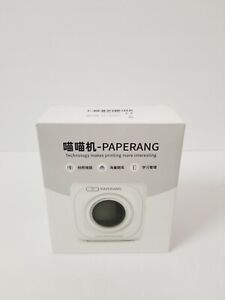 PAPERANG P1 Wireless Pocket Thermal Printer Mini Photo Printer