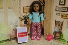 """American Girl 2014 """"Petals & Plaid Pajamas"""" - COMPLETE - RETIRED - NEW"""