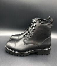 NEW Vagabond KENOVA Women's Black Leather Ankle Lace Up Boots Shoe Size 4 37