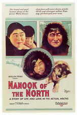 NANOOK OF THE NORTH Movie POSTER 27x40 Nanook