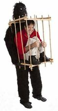 """Man in a Cage"" Unique Gorilla Suit Costume-Halloween(King Kong)"