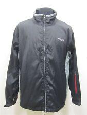 Men XL Port Authority Toyota Logo Black Lined Rain Jacket/ Coat # 3012
