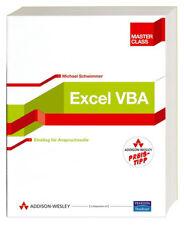 Excel-VBA (Master Class) von Michael Schwimmer