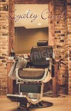 500 x Personalised Loyalty Reward Cards Barbers Shop Gentleman Hairdressers