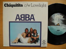 "ABBA Chiquitita / Lovelight 7"" single 1979 Sweden POS 1244 EX"