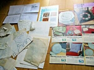 Job Lot Embroidery Transfers Booklets