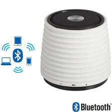 Mini Cassa Portatile Altoparlante Bluetooth White Ingresso AUX in Connettore USB