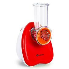 AllesschneiderZerkleinerer Schneidemaschine Gemüseschneider Rot 150W Elektrisch