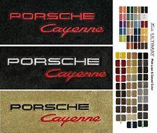 Lloyd Mats Porsche Cayenne Custom Embroidered Front Floor Mats (2003 & Up)