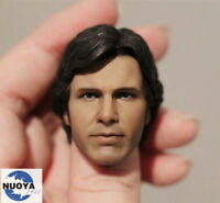 "1:6 Scale Custom Headsculpt of Harrison Ford : Han Solo For 12"" Body"
