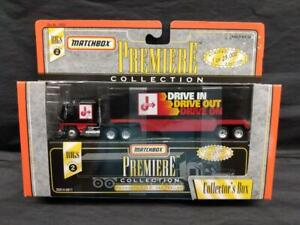 Matchbox Premiere Collection RIGS Series 2 Kenworth COE Van/Trailer Jiffy Lube
