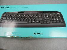 Logitech MK320 Wireless Combo Keyboard Black