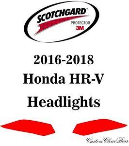 3M Scotchgard Paint Protection Film Pre-Cut Fits 2016 2017 2018 Honda HRV HR-V