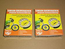 4x Bremsbacken Serienausführung Bremsen Simson S50 S51 Schwalbe SR50 SR4- serie