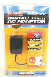 Digipower Solutions Digital Camera AC Adaptor For Minolta, Casio, HP Cameras NEW