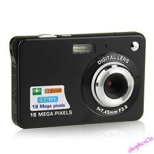 2,7'' TFT LCD HD 720P 18MP Digitalkamera Camcorder 8 X Digital Zoom Anti-Shake