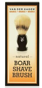 Van Der Hagen Basics, Natural Boar Shave Brush