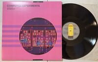 Synergy - Computer Experiments Volume One LP 1986 Audion Electronic NM/VG+