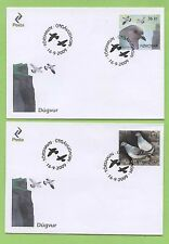Birds First Day Cover Danish & Faroese Stamps