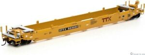 Athearn RTR 56' Well Car, TTX/Red/Brown Logo #560092