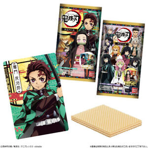 "Bandai Demon Slayer Kimetsu no Yaiba"" Wafer w/ Card Display -20ct 4549660464662"