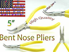 """Beads (Bent nose pliers) Yellow pvc handle Stainless steel 5"""""""