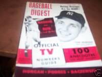 Baseball Digest June 1964 Tom Morgan NY Yankees
