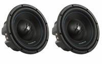 "2) Hifonics TW10D4 Titan 800W 10"" Dual High Power Car Audio Subwoofer Package"