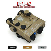 PEQ-15A DBAL-A2 Dual Beam Aiming Laser-advanced 2 IR / Red Laser Tactical Light