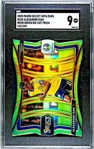 Alexander Isak SGC 9 Panini Select Euro 2020 Neon Green Die Cut Prizm /149 Swede