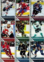 Upper Deck 2005/06 Series 1 & 2: Lot of 12 Young Guns Cards (see description)