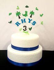 Personalizzato Dinosauro topper torta di compleanno