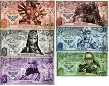 New listing Zelda Set 6 Unc 1 5 20 50 100 200 Rupees Hyrule Kingdom Legend Fancy 2016