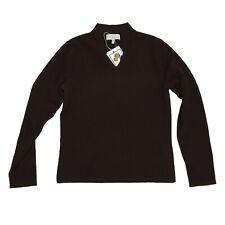 PETER HAHN Pullover 100% Kaschmir Cashmere Sweater Gr D 36 UK 10 Braun Brown SEE