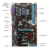 HM65 8 PCI-E Mining Motherboard + PGA988 Onboard Intel CPU For ETH RIG BTC Miner