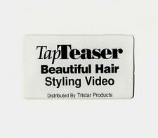 TAP TEASER Beautiful Hair Styling instructional VHS beauty & fashion styling