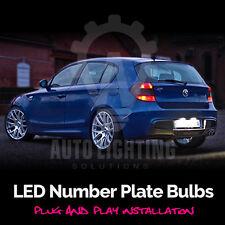 2x BMW 1 Series E87 LED Xenon White Number Plate Light Bulbs Error Free