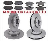 FOR VAUXHALL ASTRA H 1.9 CDTI 120&150 BHP 308mm FRONT & REAR BRAKE DISCS & PADS