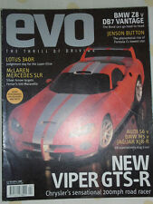 Evo No 18 Apr 2000 BMW Z8 vs DB7 Vantage, 340R, SLR