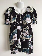 HAWAIIAN - Ladies Floral Top - Size XXL
