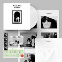 John Lennon & Yoko Ono Wedding Album CLEAR COLOR Vinyl Box Set x/300 Rough Trade