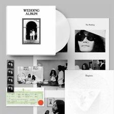 John Lennon & Yoko Ono Wedding Album CLEAR COLOR Vinyl Box Set x/300 Rough Trade
