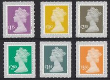 GB Machin Definitive set (6 stamps) MNH 2019
