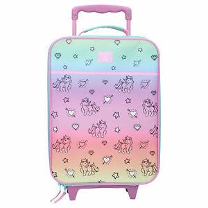 B-Ware Einhorn Koffer Trolley Kinderkoffer Handgepäck Trolly Kindertrolley