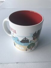 Starbucks Indonesia Series Collection Mug 2014 Ubud Design Artistic